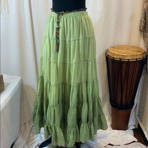 Dresses & Skirts - NWOT HIPPIE BoHo Ombré Peasant Skirt - S/M